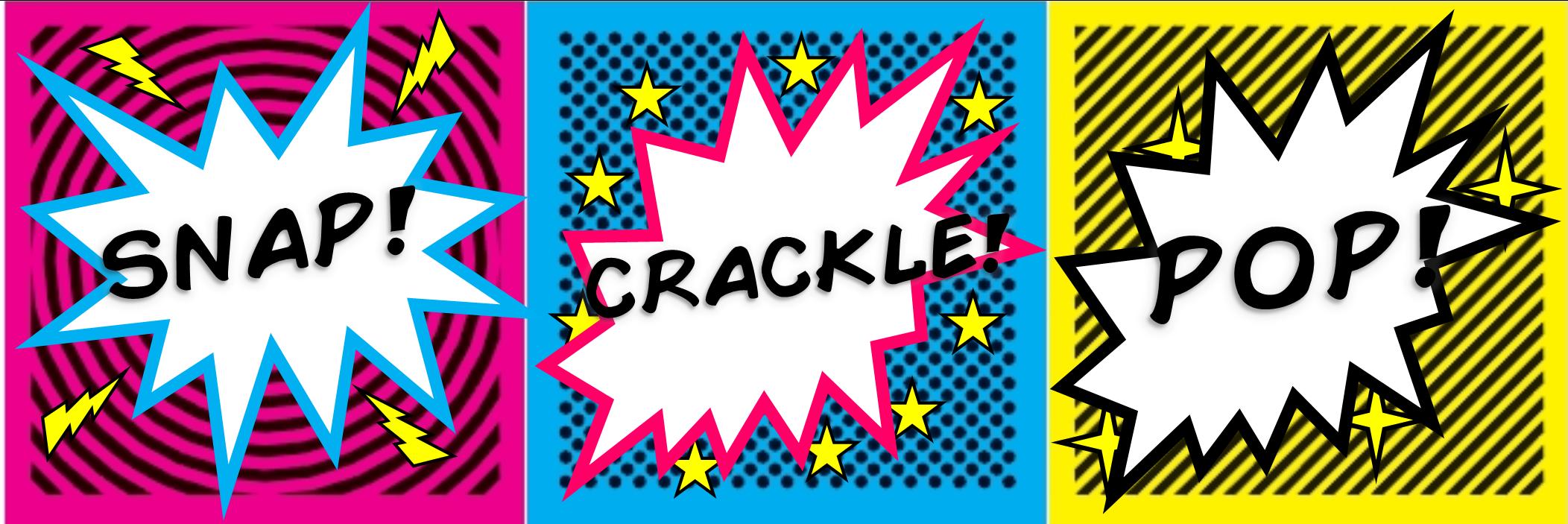 Snap, Crackle, Pop - STUMINGAMES